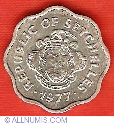 Image #1 of 5 Cents 1977 - FAO