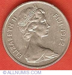 Image #1 of 5 Cents 1982