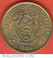 Image #1 of 5 Cents 1990
