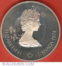 Imaginea #1 a 5 Dolari 1974 - Jocurile Olimpice de la Montreal - Canotor