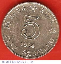 Imaginea #2 a 5 Dollars 1984