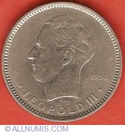 Image #1 of 5 Francs 1936 (Dutch)