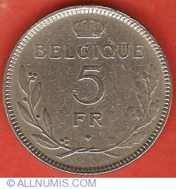 Image #2 of 5 Francs 1937 (French)