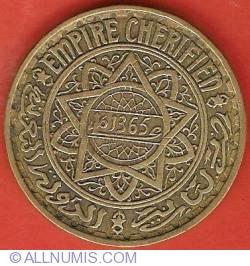 Imaginea #2 a 5 Francs 1946 (AH1365)