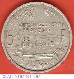 Imaginea #2 a 5 Francs 1952