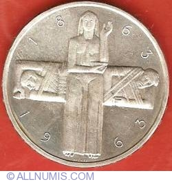 Image #2 of 5 Francs 1963 - Red Cross Centennial