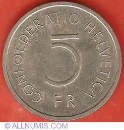 Image #1 of 5 Francs 1976 - Battle of Murten