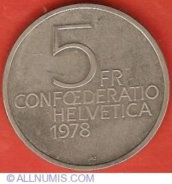 5 Francs 1978 - Henry Dunant