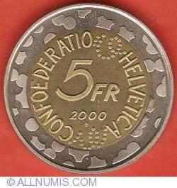 Image #1 of 5 Francs 2000 - Basler Fasnacht