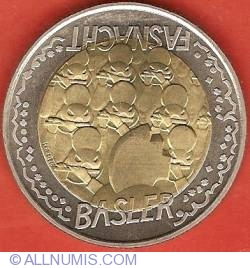 Image #2 of 5 Francs 2000 - Basler Fasnacht