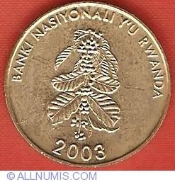 Image #1 of 5 Francs 2003