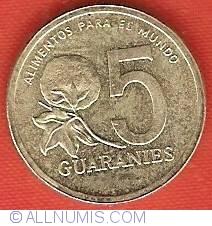 Imaginea #2 a 5 Guaranies 1992 - FAO