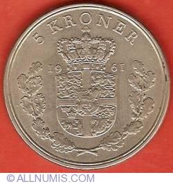 Imaginea #2 a 5 Kroner 1961