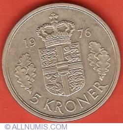 Image #2 of 5 Kroner 1976