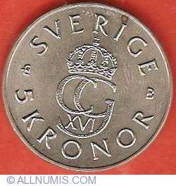 Image #1 of 5 Kronor 1995 - 50th Anniversary of United Nations