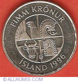 Image #1 of 5 Kronur 1996