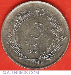 Image #1 of 5 Lira 1976