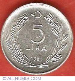 Image #2 of 5 Lira 1981