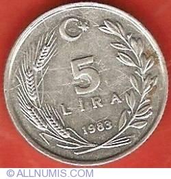 Image #2 of 5 Lira 1983