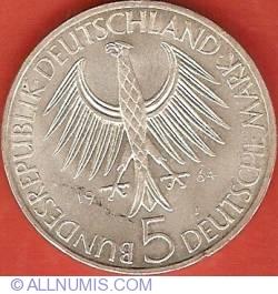 5 Mărci 1964 J - 150 de ani de la moartea lui Johann Gottlieb Fichte