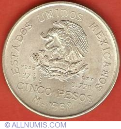 Image #1 of 5 Pesos 1952