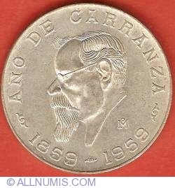 Image #2 of 5 Pesos 1959 - Carranza