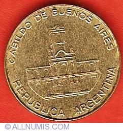 5 Pesos 1985