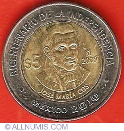 Image #2 of 5 Pesos 2009 - José Maria Cos