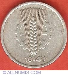 Imaginea #2 a 5 Pfennig 1948 A