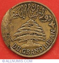 Image #1 of 5 Piastres 1925