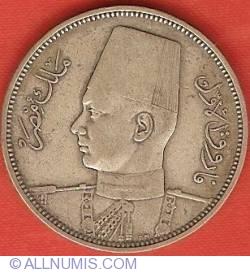 Imaginea #1 a 5 Piastres 1939 (AH 1358)