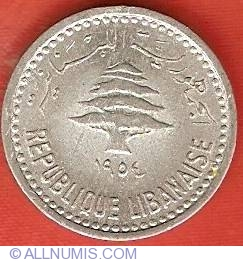 Image #1 of 5 Piastres 1954