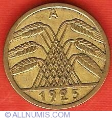 Image #2 of 5 Reichspfennig 1925 A