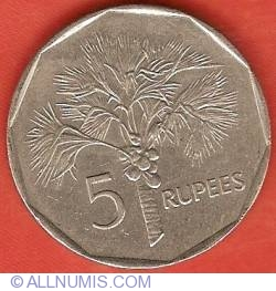 Image #2 of 5 Rupees 1982
