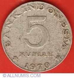 5 Rupiah 1970