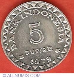 Image #2 of 5 Rupiah 1979