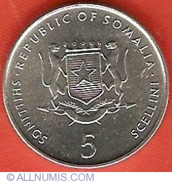 Image #1 of 5 Shillings 2000