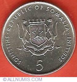 Imaginea #1 a 5 Shillings 2000
