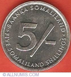 Imaginea #1 a 5 Shillings 2002