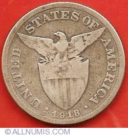 Imaginea #1 a 50 Centavos 1918 S