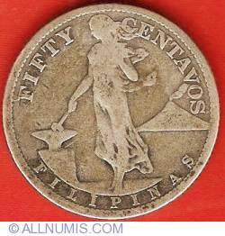 Imaginea #2 a 50 Centavos 1918 S