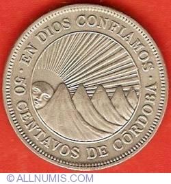 Image #2 of 50 Centavos 1956