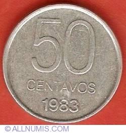 Image #2 of 50 Centavos 1983