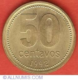 Image #2 of 50 Centavos 1992