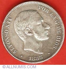 Imaginea #1 a 50 Centimos 1885