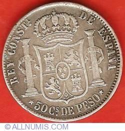 Imaginea #2 a 50 Centimos 1885