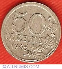 Imaginea #2 a 50 Cruzeiros 1965