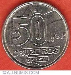 Image #1 of 50 Cruzeiros 1992