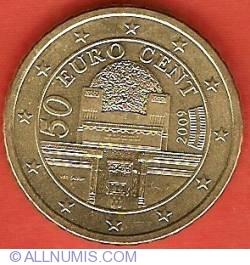 Imaginea #2 a 50 Euro Cent 2009