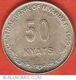 Image #2 of 50 Kyats 1999